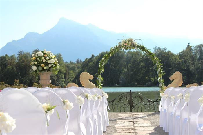 Hochzeitsdekoration Blumen Neuhauser